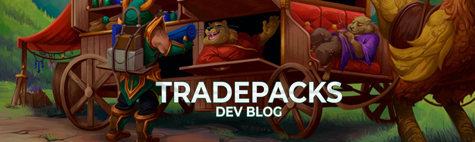 A developer blog on Tradepacks