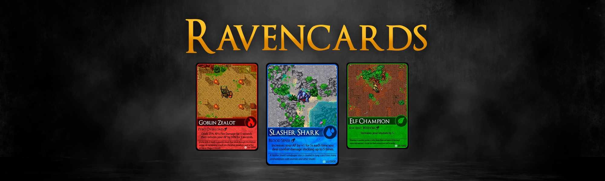 Dev Blog - Ravencards